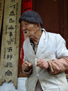 Dokter Ho in Baisha bij Lijiang