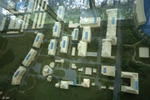 Yurong Campus model