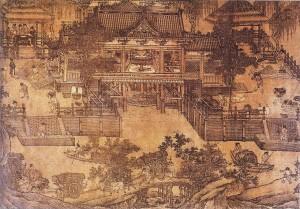 Song Hangzhou graanmolen