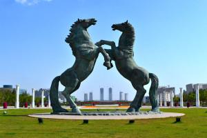 Ordos-paardenbeeld