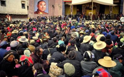Panchen Lama in Gyangtse