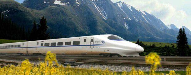 Nu supersnel per trein van Xi'an naar Chengdu